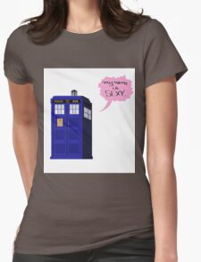 Sexy Tardis Womens Fitted T-Shirt