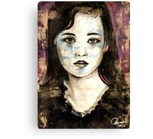 She was once a girl Canvas Print