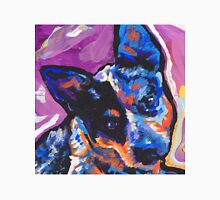 Australian Cattle Dog Bright colorful pop dog art Unisex T-Shirt