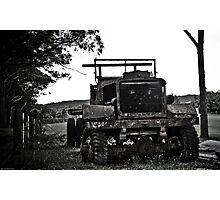 War Relic Photographic Print
