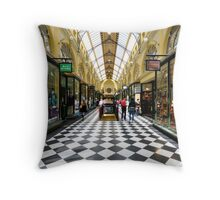 the Royal Arcade Throw Pillow