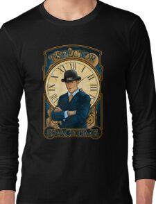 Inspector Spacetime Nouveau (II) Long Sleeve T-Shirt