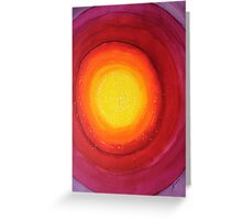 Strange Attractor original painting Greeting Card