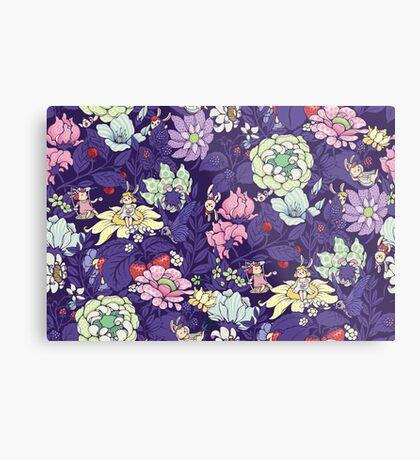 The Garden Party - blueberry tea version Metal Print