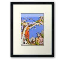 Our favourite path Framed Print