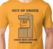 Litwak's Arcade Out of Order Sign Unisex T-Shirt