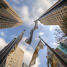 Fluttering Flags by Craig Goldsmith