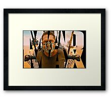 Mad Max Word Art Framed Print