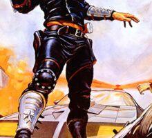 Mad Max Poster Sticker