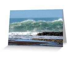 wave n5 Greeting Card