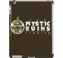 MYSTIC RUINS: camping iPad Case/Skin