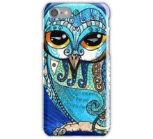 Turquoise Owl iPhone Case/Skin