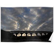 Pont du Gard - Roman Aquaduct Poster