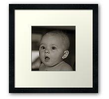 mz mia duotone Framed Print