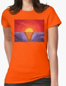 Pacifica original painting Womens Fitted T-Shirt