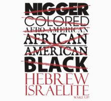 HEBREW ISRAELITE WHT by NatanYah Ysrayl