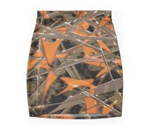 Intricate Abstract Print Mini Skirt