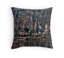 By the Dordogne, France 2010 Throw Pillow