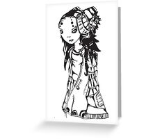 Scarlet Greeting Card