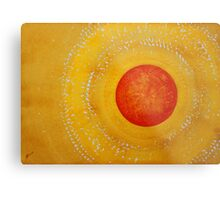 Autumn Sun original painting Metal Print