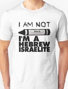 NOT BLACK WHT Unisex T-Shirt