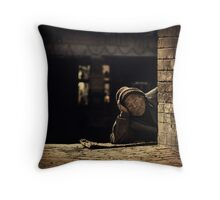 The Resting Man #0101 Throw Pillow