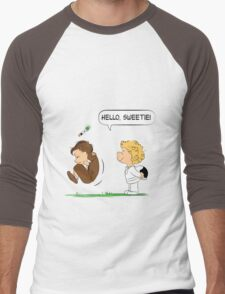 Hello, Sweetie Men's Baseball ¾ T-Shirt