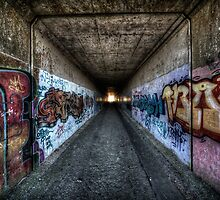 Light at the end of the tunnel by shutterjunkie