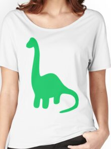 Brachiosaurus, Long-Neck Dinosaur (Loch Ness Monster) Women's Relaxed Fit T-Shirt