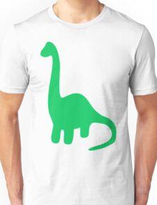 Brachiosaurus, Long-Neck Dinosaur (Loch Ness Monster) Unisex T-Shirt