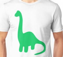 Brachiosaurus, Long-Neck Dinosaur (Loch Ness Monster) Unisex T-Shirt