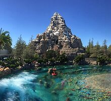 Matterhorn Towers Over Submarine Lagoon Panorama by q4pPhotography