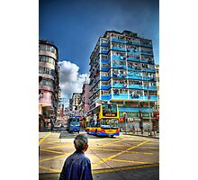Nam Cheong Street - Sham Shui Po the HDR Touch Photographic Print