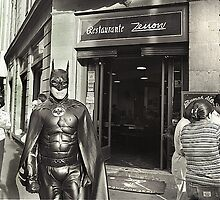 Batmen, Mexico-city 1996 by BOBR
