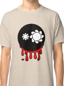 Funny cartoon bleeding head Classic T-Shirt