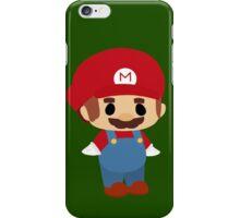 Mini Mario Chibi iPhone Case/Skin