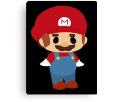 Mini Mario Chibi Canvas Print