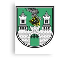 Polish coat of arms Canvas Print