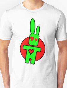 Funny cartoon bunny Unisex T-Shirt