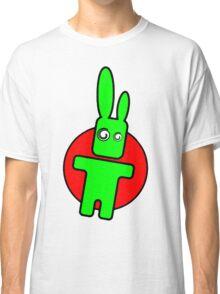 Funny cartoon bunny Classic T-Shirt