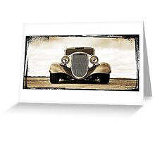 1933 Ford Coupe Lomo © Greeting Card