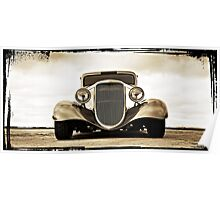 1933 Ford Coupe Lomo © Poster