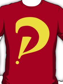 Interrobang perspective (yellow) T-Shirt