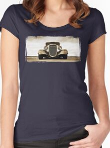 1933 Ford Coupe Lomo © Women's Fitted Scoop T-Shirt