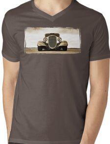 1933 Ford Coupe Lomo © Mens V-Neck T-Shirt