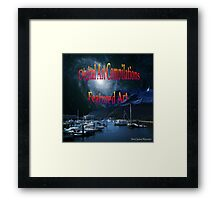 Digital Art Compilations Featured Art Banner Framed Print