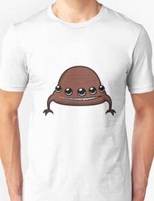 Funny cartoon brown alien Unisex T-Shirt
