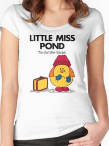 Little Miss Pond Women's Fitted Scoop T-Shirt