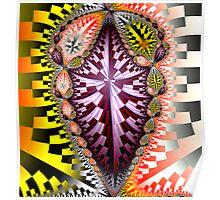 Newton Bead Close-up Poster