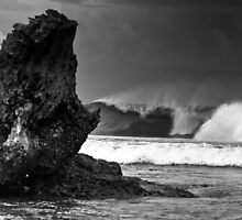 STORMY BARRELS by Mick Curley